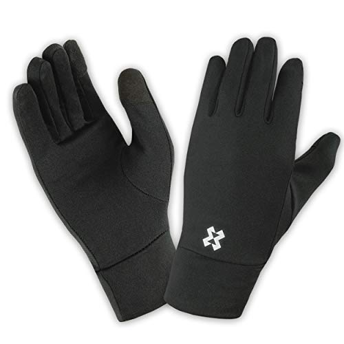 HYXE Unterziehhandschuhe - Liner Glove mit Touchscreen Funktion zum Fahrradfahren, Motorradfahren, Skifahren, Snowboarden, Wandern