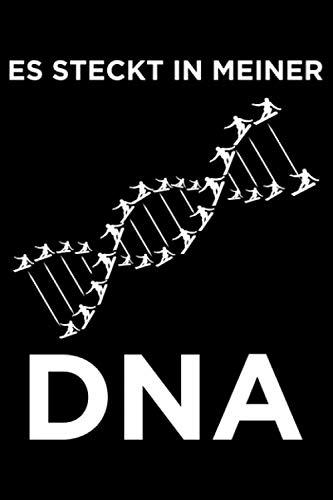 Es Steckt In Meiner DNA: Liniertes Notizbuch Din-A5 Heft für Notizen