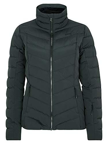 Ziener Damen Talma Ski Winter-Jacke   Warm, Atmungsaktiv, Wasserdicht, Schwarz, 34