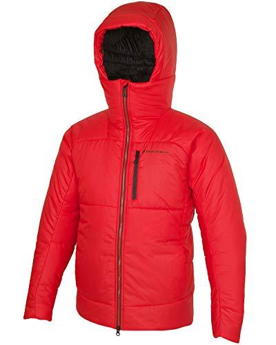 Black Diamond M Belay Parka Rot, Herren Winterjacke, Größe L - Farbe Hyper Red