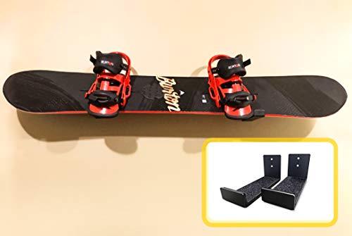 AA Products Ski-Dachträger für 6 Paar Ski oder 4 Snowboards, Ski-Dachträger passend für die meisten Fahrzeuge mit Querstangen, aluminium, Snowboard & Ski Display Wall Mount