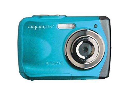 EasyPix W1024 Splash Digitalkamera, wasserdicht 3m, CMOS 10MP, 2,4'LCD, blau