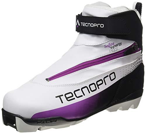 TECNOPRO Damen Safine Synergy Pilot Skilanglaufschuhe, weiß/Schwarz/pink, 7