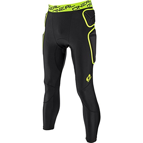 O'NEAL Trail Pant MX MTB Protektorenhose lang schwarz/gelb 2020 Oneal: Größe: L (52/54)