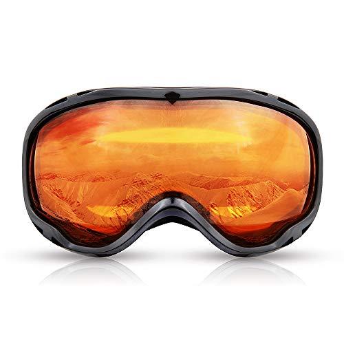 Herren Schnee Skibrille Sport Snowboard Brillen Anti-Fog Doppel-Objektiv Skibrille Nacht Damen Male Kletterschutz