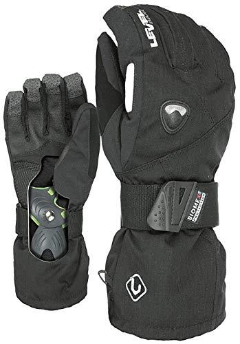 Level Herren Handschuhe Fly, Black, 7,5