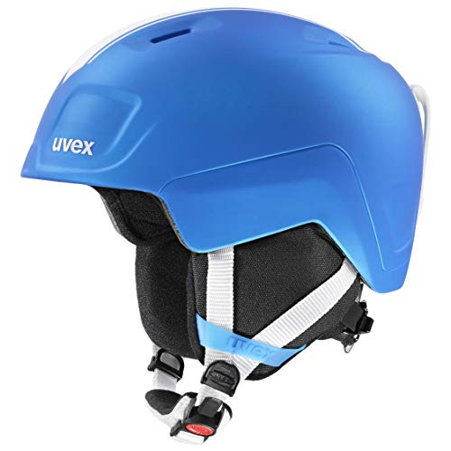 uvex Unisex Jugend heyya pro Skihelm, race blue mat, 54-58 cm