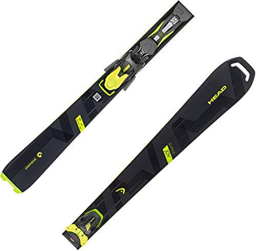 HEAD Damen Skier Super Joy SLR inkl. Bindung Joy 11 GW schwarz/gelb (703) 148