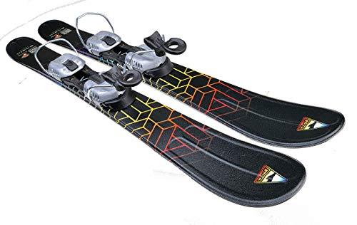 GPO Snowblade Hot Stamp | Kurz-Ski inkl. GC-201-Bindung | 99 cm Länge | Big-Foot-Ski Herren und Damen