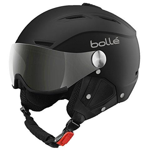 Bollé Skihelm Backline Visor Soft With 1 Gun und Lemon, Black, 59-61 cm, 31156