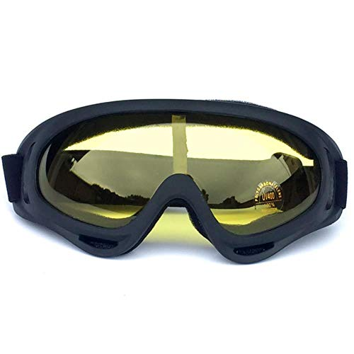 fish Professional Winter Skibrille Ski Snowboard Brille Sonnenbrille Brillen Anti-UV400 Sportausrüstung für Kinder Männer Frauen, BF653-04