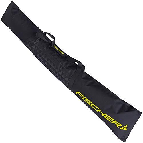 FISCHER SKICASE ECO ALPINE 2020 Skitasche Skisack mit RV für ein Paar Ski Z10719(BLACK)