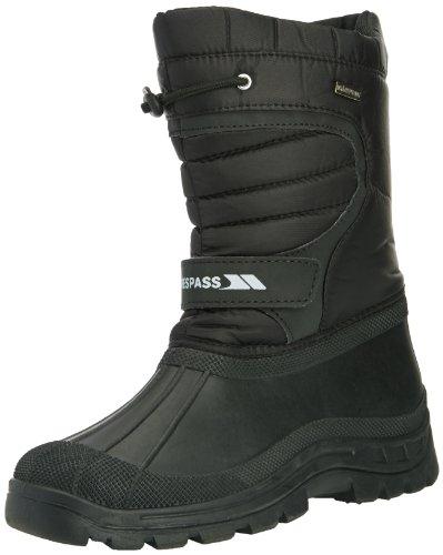 Trespass Dodo, Unisex-Kinder Chelsea Boots, Schwarz (Black), 40