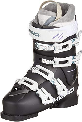 HEAD Damen FX GT W Skischuhe, schwarz/weiß, 24.5 | EU 39,5