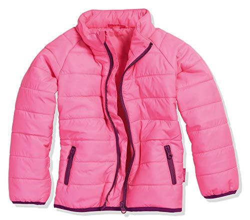 Playshoes Mädchen Steppjacke Uni Jacke, Rosa (pink 18), 116