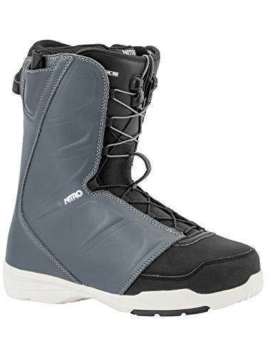 Nitro Snowboards Herren Vagabond TLS '20 All Mountain Freestyle Schnellschnürsystem günstig Boot Snowboardboot, 28.5