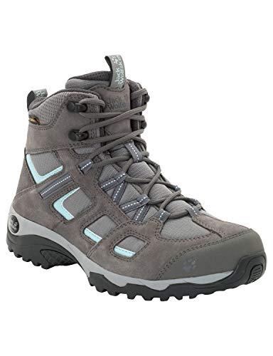 Jack Wolfskin Damen Vojo Hike 2 Texapore MID W Wasserdicht Trekking-& Wanderstiefel, Grau (Tarmac Grey 6011), 38 EU