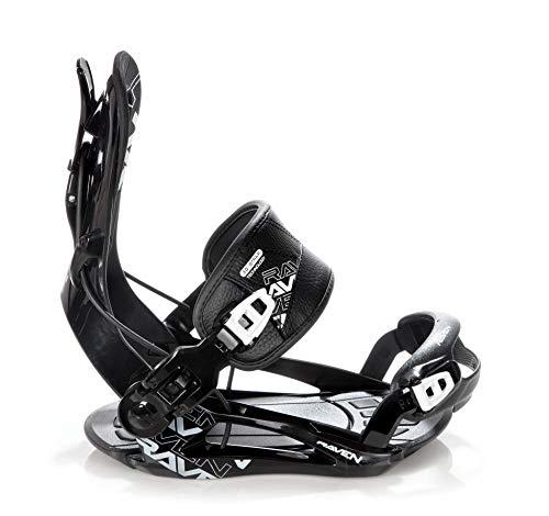 RAVEN Snowboard Bindung Fastec FT270 (Black, L(41-44))