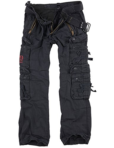 Surplus Royal Traveler Trousers, royalblack, 4XL