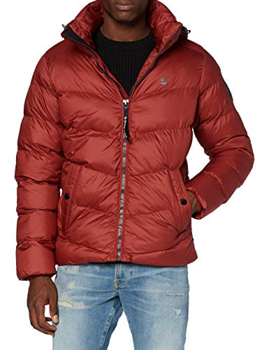 G-STAR RAW Herren Whistler HDD Puffer' Jacket, Dry Red B958-5298, XX-Small