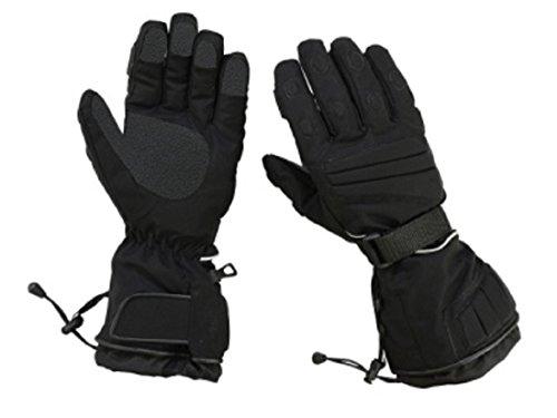 Hugger Glove Herren Textilhandschuh Schneemobil, Ski, Motorrad Isolierte Handschuhe - Schwarz - Klein