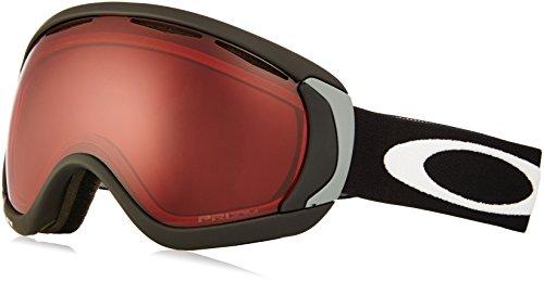 Oakley Erwachsene Snowboardbrille Canopy Sportbrille, Schwarz (Matte Black/Prizmrose), 99