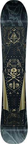 Nitro Snowboards Herren Magnum '20 All Mountain Freeride Freestyle Wide Snowboard für Große Füße Board, mehrfarbig, 167 cm