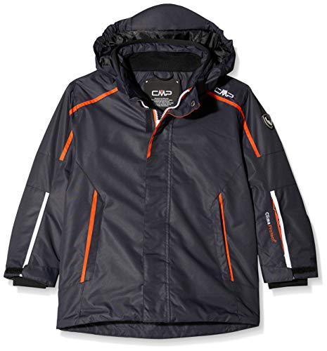 CMP Kinder Feel Warm Flat 3.000 Skijacke, Antracite, 98