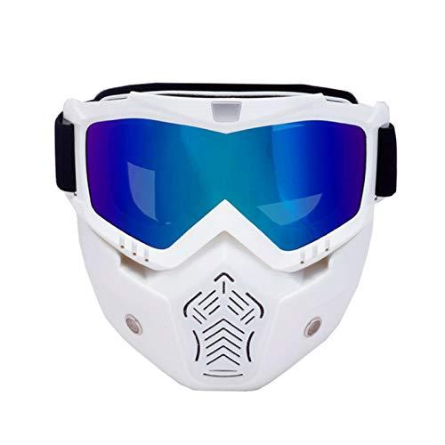 AOIWE Männer Frauen Skibrille Snowboard Schneemobil Brille Abnehmbare Maske Schnee Winter Skibrille Motocross Sonnenbrille