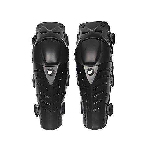 VOMI Knieschoner MTB Enduro, Unisex Knieprotektor Motorrad Schienbeinschoner Knie Knieschutz Knee Guard Einstellbar/Flexibel/Atmungsaktiv für Motocross Race Fahrrad Skateboard Radrennen Ski