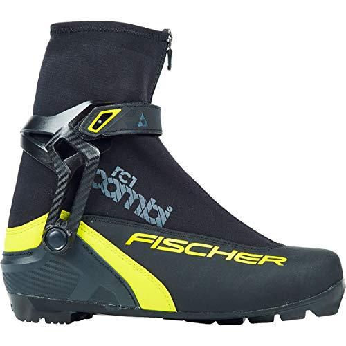 FISCHER RC1 Combischuh, Black-Yellow, 44