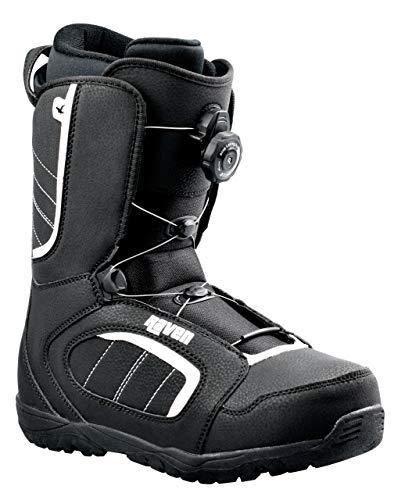 RAVEN Snowboard Boots Target ATOP mit Schnellverschluss (43 (28cm))