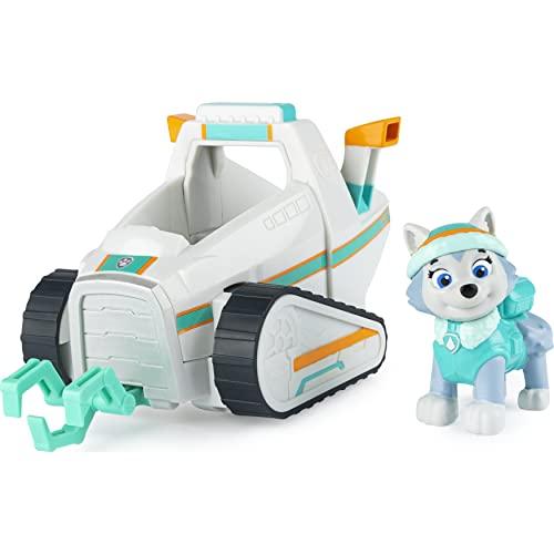 PAW Patrol Schneefahrzeug mit Everest-Figur (Basic Vehicle)