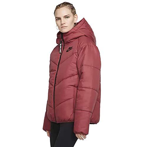 Nike Damen NSW Wr Syn Fill Hooded Veste Blazer, Gelb (Cedar/Cedar/Black), X-Small