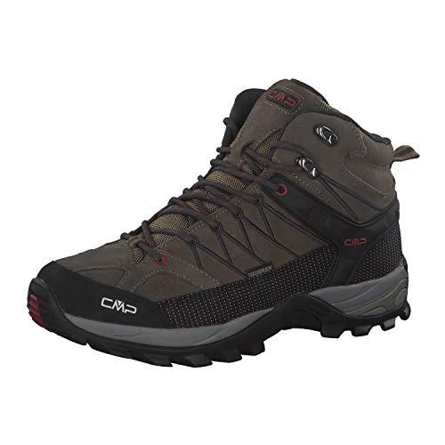 CMP Herren Rigel Mid Shoe Wp Trekking-& Wanderstiefel, Beige (Torba-Antracite 02pd), 43 EU