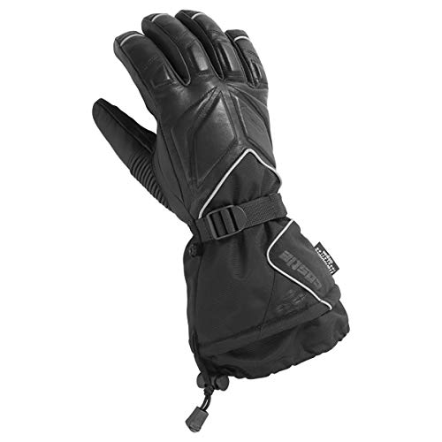 Castle X TRS G2 Herren Schneemobil-Handschuhe, Schwarz, Größe 3XL
