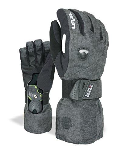 Level Herren Fly Handschuhe, PK Black, 8,5