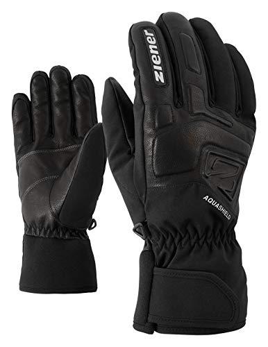 Ziener Erwachsene GLYXUS AS(R) Glove Alpine Ski-handschuhe/Wintersport   Wasserdicht, Atmungsaktiv, , schwarz (black), 8