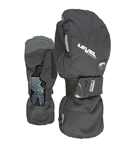 Level Herren Half Pipe Mitt Gore-Tex Handschuhe, Black, 8,5