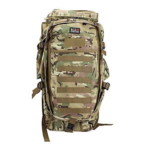 LSNLNN Taschen, Multifunktionaler Taktischer Rucksack 600D Camping Wandern Freizeitkombination Großraumrucksack Outdoor Wasserdichter Sportrucksack Bunt,Mehrfarbig
