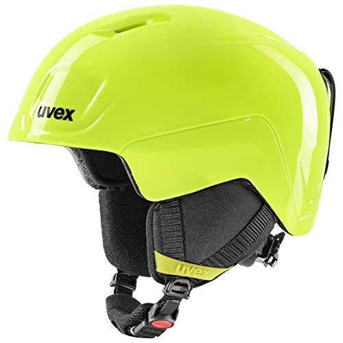 uvex Unisex Jugend heyya Skihelm, neolime, 51-55 cm