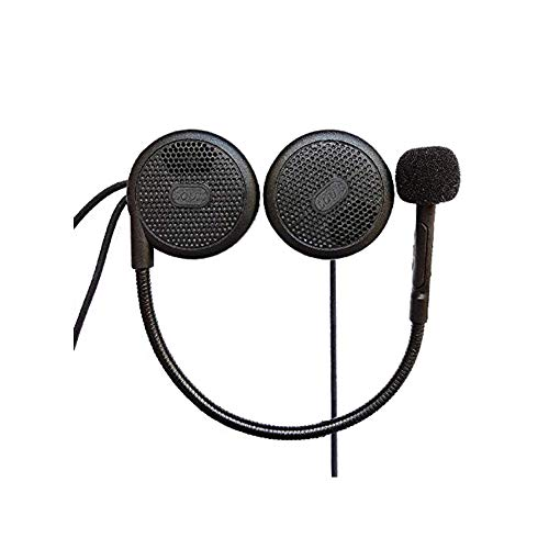 FreedConn L1M Motorrad Helm Bluetooth Headset Kopfhörer, 10 Sekunden Anrufe automatisch beantworten, Mikrofon MP3 Dedicated Helm Headset Kopfhörer