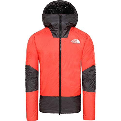 THE NORTH FACE Summit L6 Synthetic Belay Parka Größe M Fiery red/TNF Black