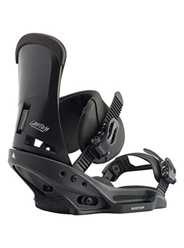 Burton Herren Custom EST Snowboard Bindung, Black, L