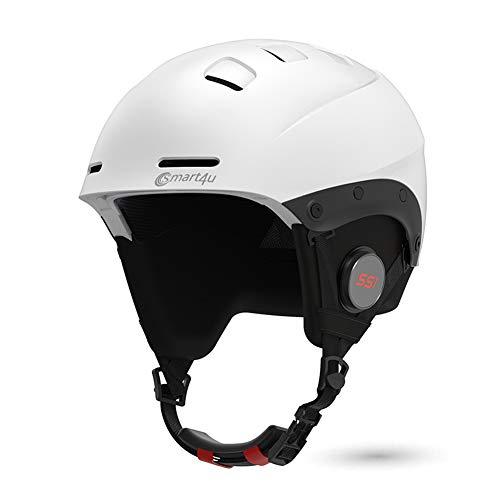 Smart4u LIVALL Smart Skihelm SS1 mit Bluetooth Ski- und Snowboardhelm Audio, Walkie-Talkie/Push-to-Talk