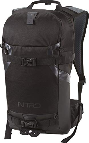 Nitro Snowboards Rucksack, Tourenrucksack, Riderbackpack, Backpack, Black Out, 14L