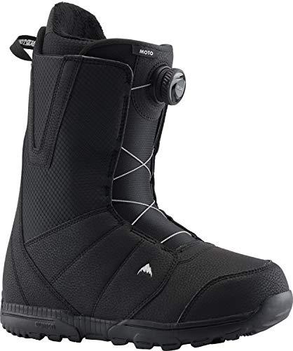 Burton Herren Moto Boa Snowboard Boot, Schwarz (Black), 45 EU