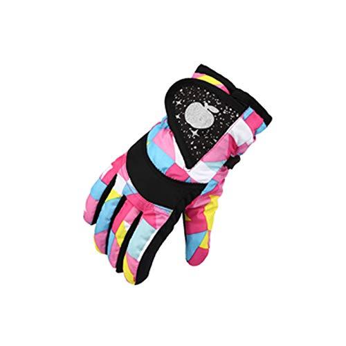 BETUGIFT Verschiedene Alter Kinder Skihandschuhe, Snowboard Handschuhe Schneehandschuhe, Ski Handschuhe,Winterhandschuhe, Winter Fäustlinge für 3-18 Jahre Mädchen und Jungen Skifahren