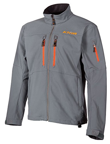 Klim Inversion Herren Ski Schneemobil Jacke–Grau/Medium
