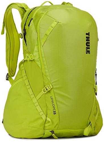 Thule Uni Backpack Upslope 35L Snowsports RAS, Lime Punch, REG, 3203610